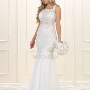 Wedding gown. Bridal evening dresses